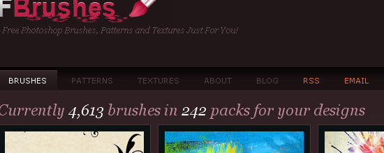 Fbrushes - screen shot.