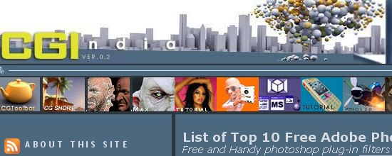 List of Top 10 Free Adobe Photoshop Plugins - screen shot.