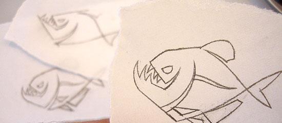 Piranha's Revenge - Illustrative Logo - screen shot.