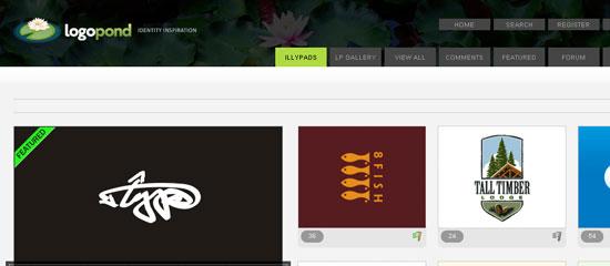 LogoPond - screen shot.