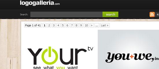 Logo Galleria - screen shot.