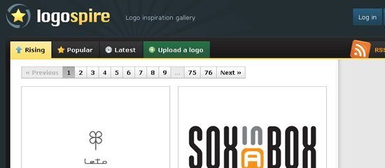 Logospire - screen shot.
