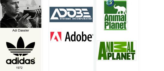 Logo Design History - screen shot.