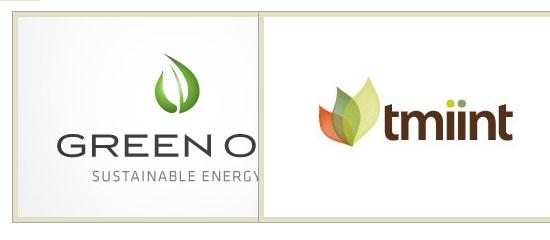 35 Green, Leafy Logos - screen shot.