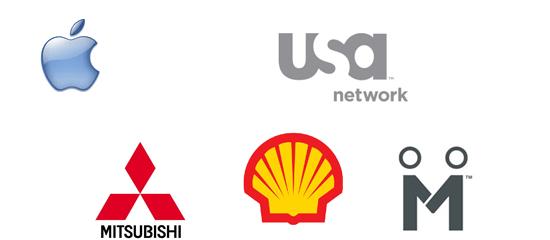15 wonderfully simple logo designs - screen shhot.