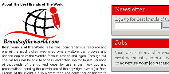 Brands of the World - screen shot.