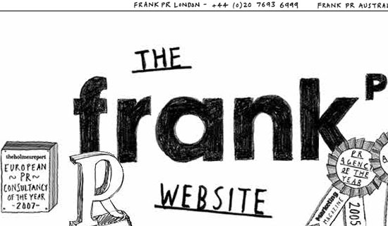 Frank PR - screen shot.