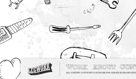 Legwork Studio - screen shot.