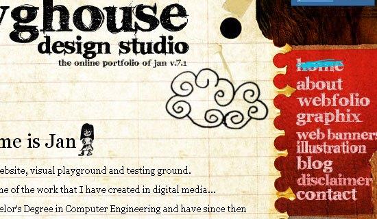 Dawghouse Design Studio - screen shot.