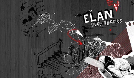 Elan Snowboards - screen shot.