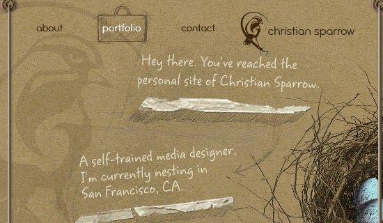 Christian Sparrow - screen shot.