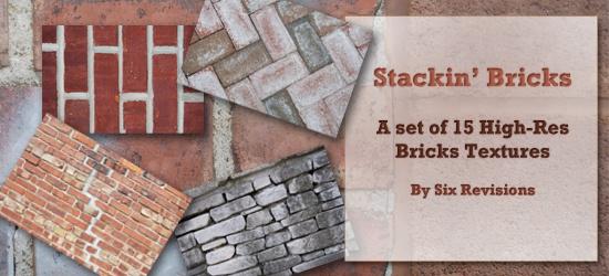 Stackin' Bricks: a set of high quality bricks textures
