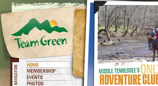 Team Green screen shot.