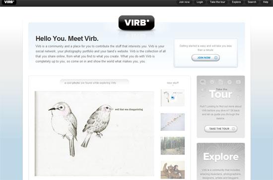 Virb screen shot.