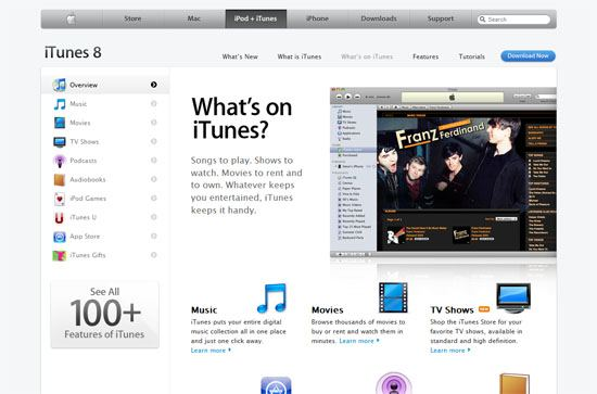 Apple - iTunes screen shot.
