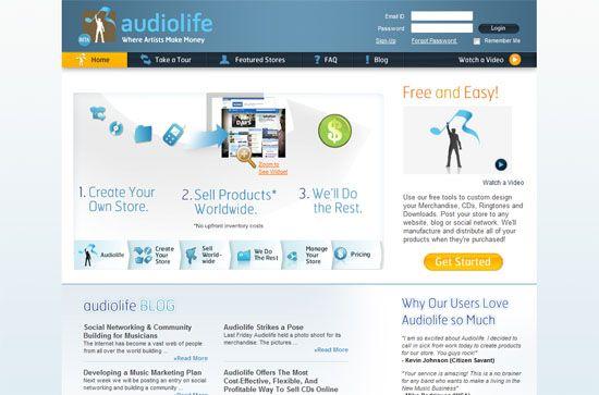 audiolife screen shot.