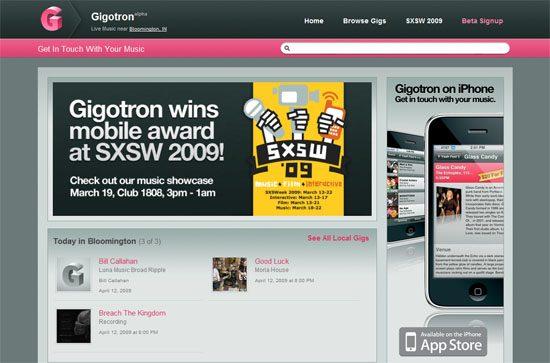 Gigotron screen shot.