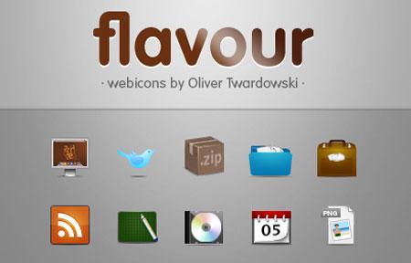 Flavours Icon Set