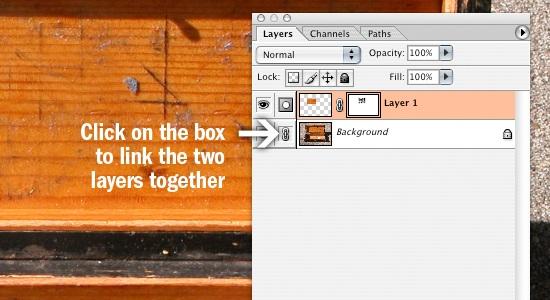 Merge layers.