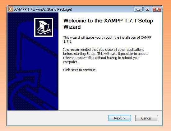 XAMPP Setup Wizard