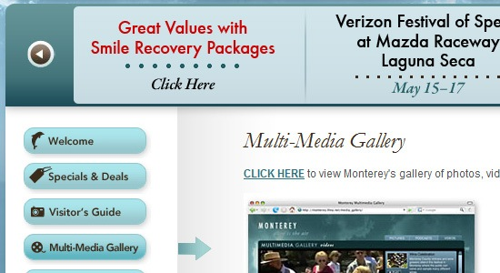 Monterey County California Travel & Tourism