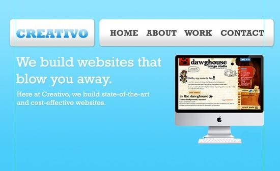 site header.