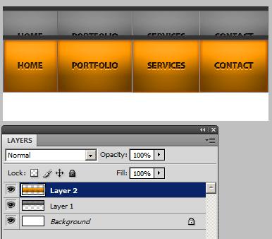 Orange highlight pasted.