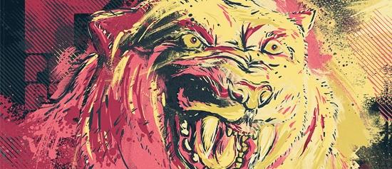 Furious Pink Panther Poster