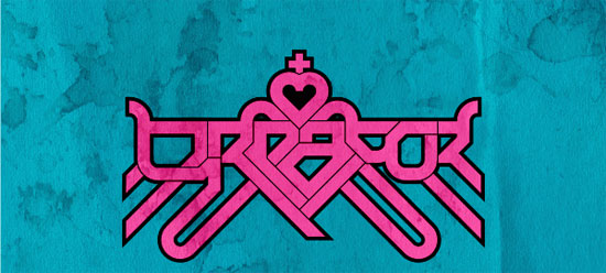 YEAH logo pattern