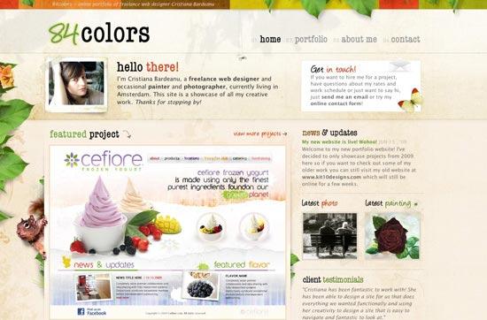 84 Colors
