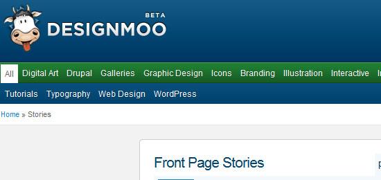 social news sites for web designers