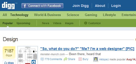 Digg/Design