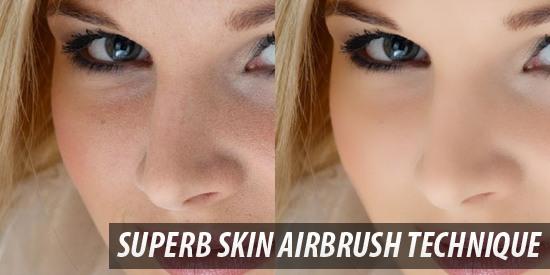 Superb Skin Airbrush Technique