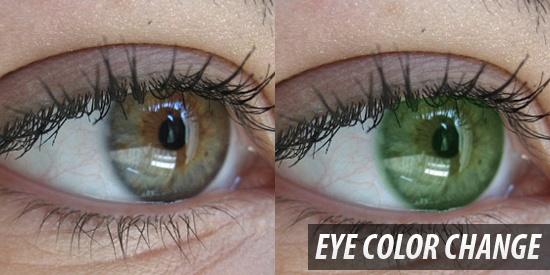 Eye Color Change