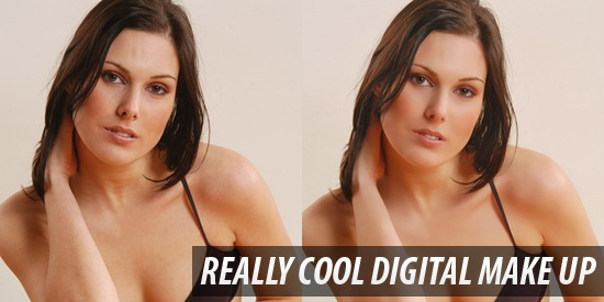 Really Cool Digital Make up in Photoshop in 10 min