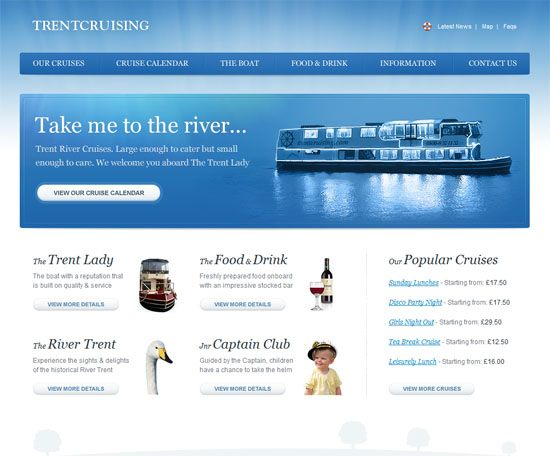Trent River Cruises Nottingham