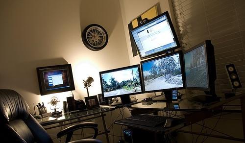 Justin Griswolds Desk