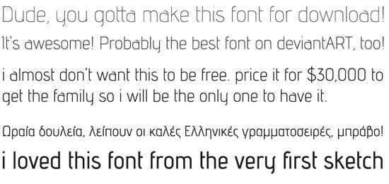advent font