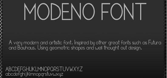 Modeno Font