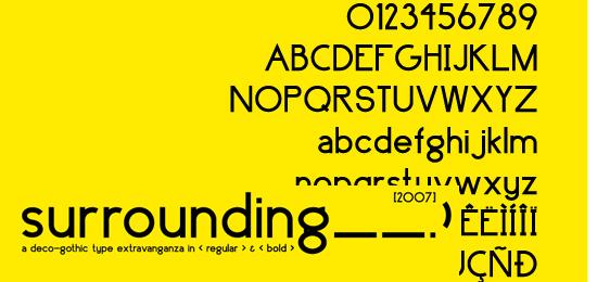 surrounding__