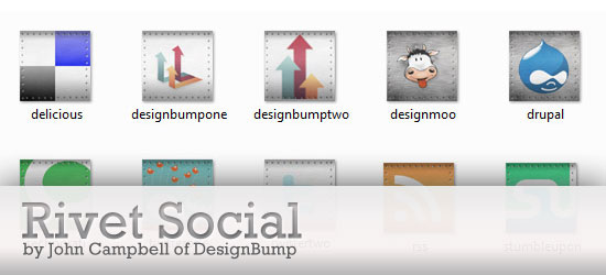 Free Set of Social Media Icons - Rivet Social