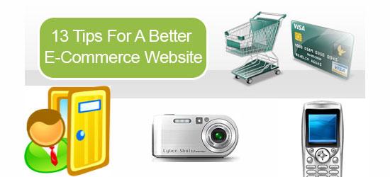 13 Tips for a Better E-Commerce Website