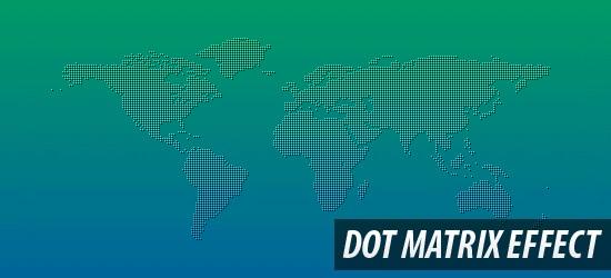 Dot Matrix Effect