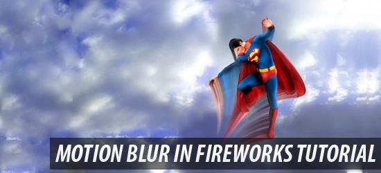 Motion Blur in Fireworks Tutorial