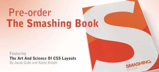 Pre-Order The Smashing Book!
