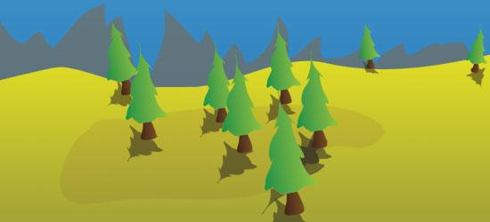 Create a Cartoon Landscape Website with a little jQuery