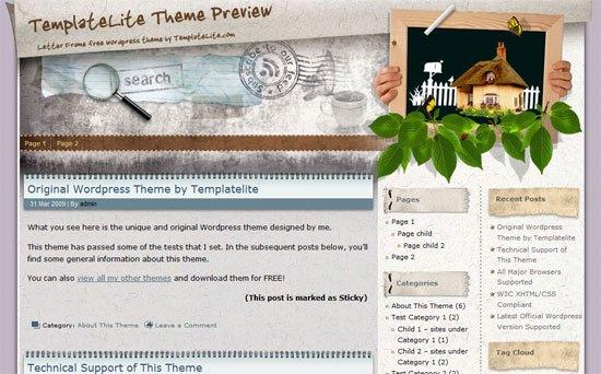 Letter Frame - Preview 1