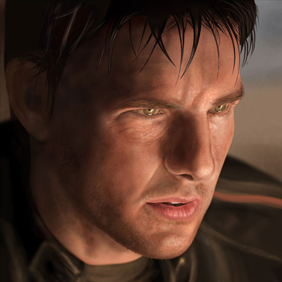 Tom Cruise by Dave Gaskin