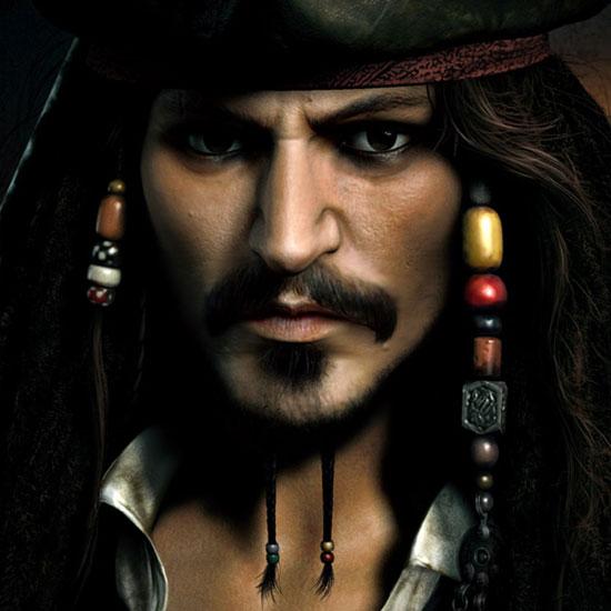 Captain Jack Sparrow by Jeremy Roberts