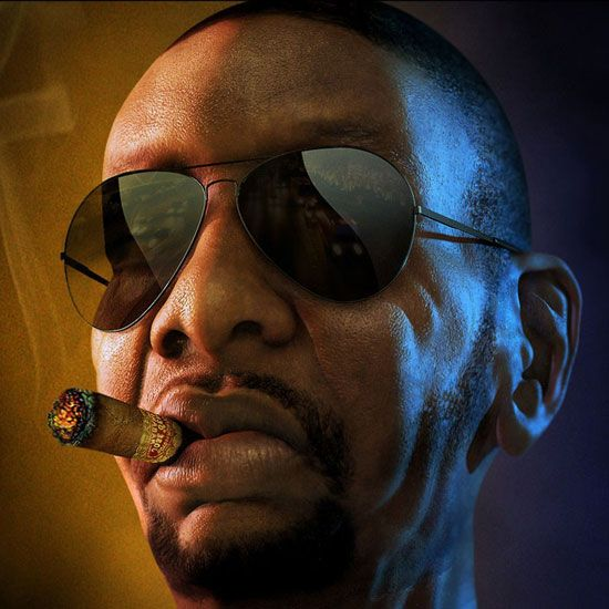Gangsta game character by Bernardo Barbi